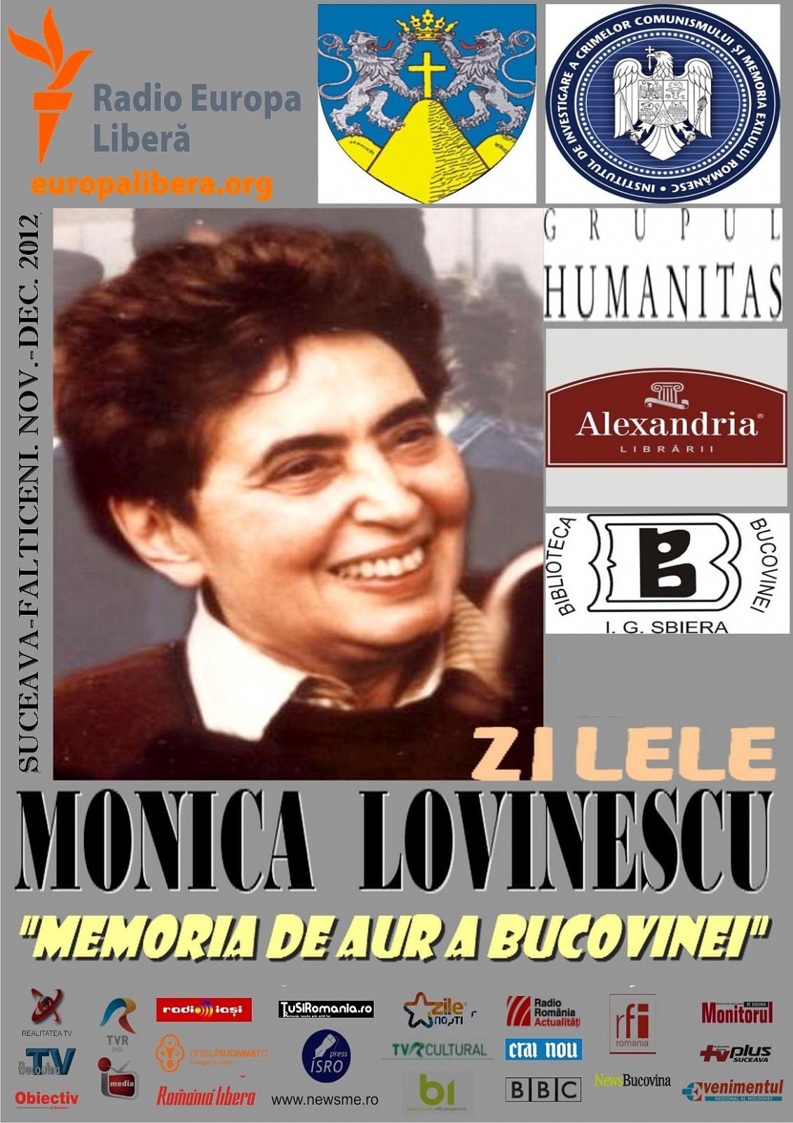 """Doina Jela, Premiul Naţional """"Monica Lovinescu şi Virgil Ierunca"""", ediţia 2012"""