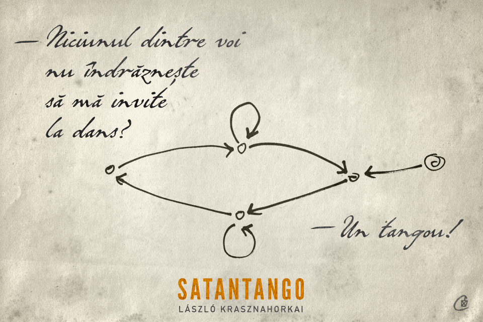 citate despre dans Curtea Veche Publishing » Satantango #4 – Dansul citate despre dans