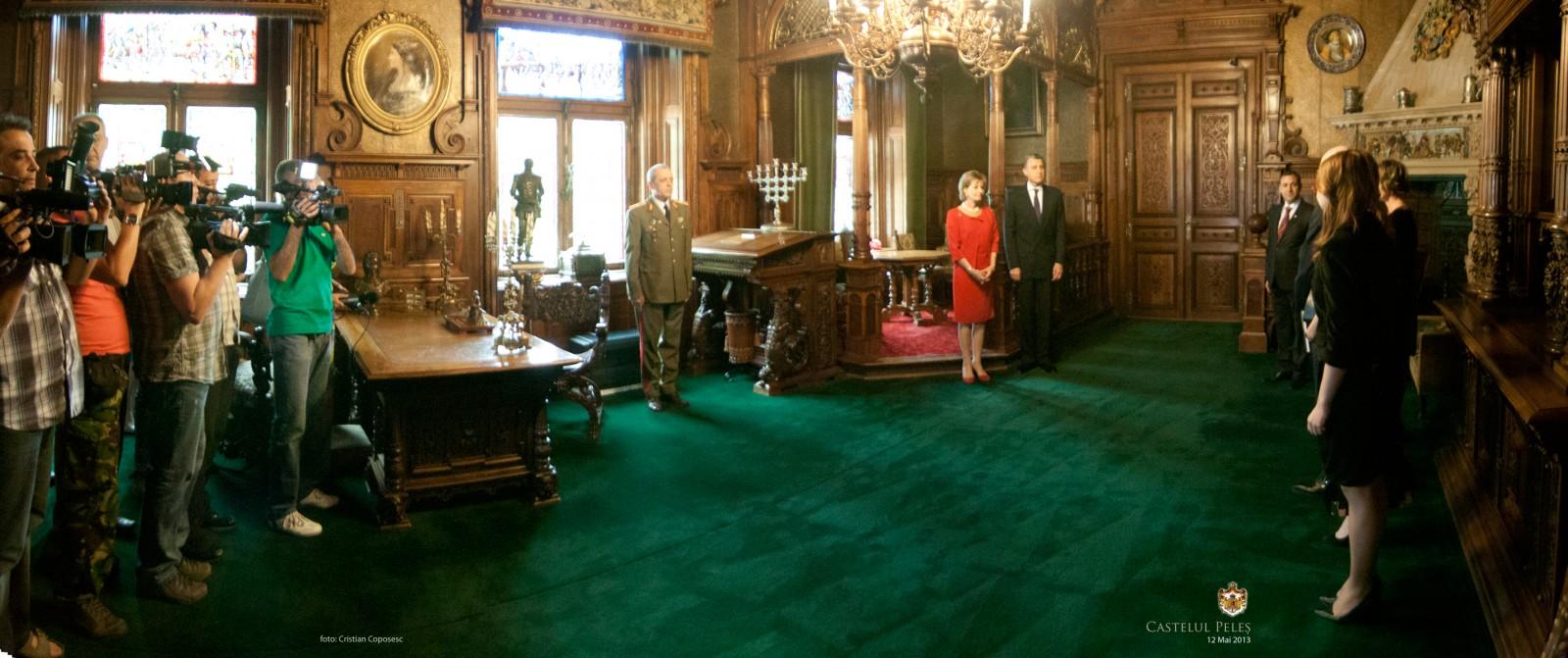 Curtea Veche Publishing, momente emoționante la Castelul Peleș