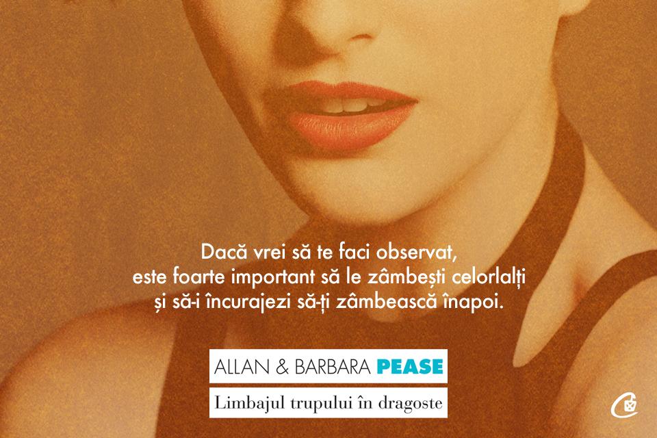 Regula numărul 4 a limbajului trupului în dragoste – Allan și Barbara Pease