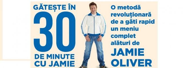 Câştigă afiş cu autograf de la Jamie Oliver