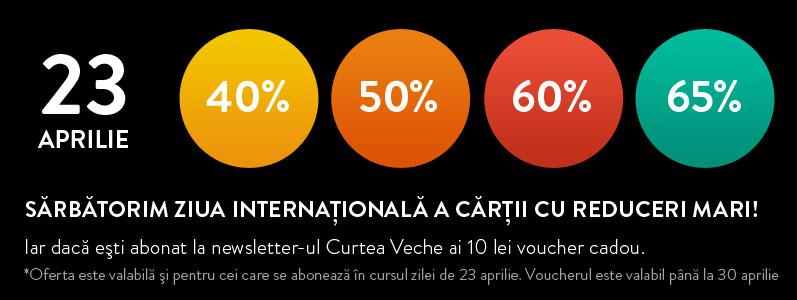 Curtea Veche te provoacă să citești în familie de Ziua Internaţională a Cărţii!