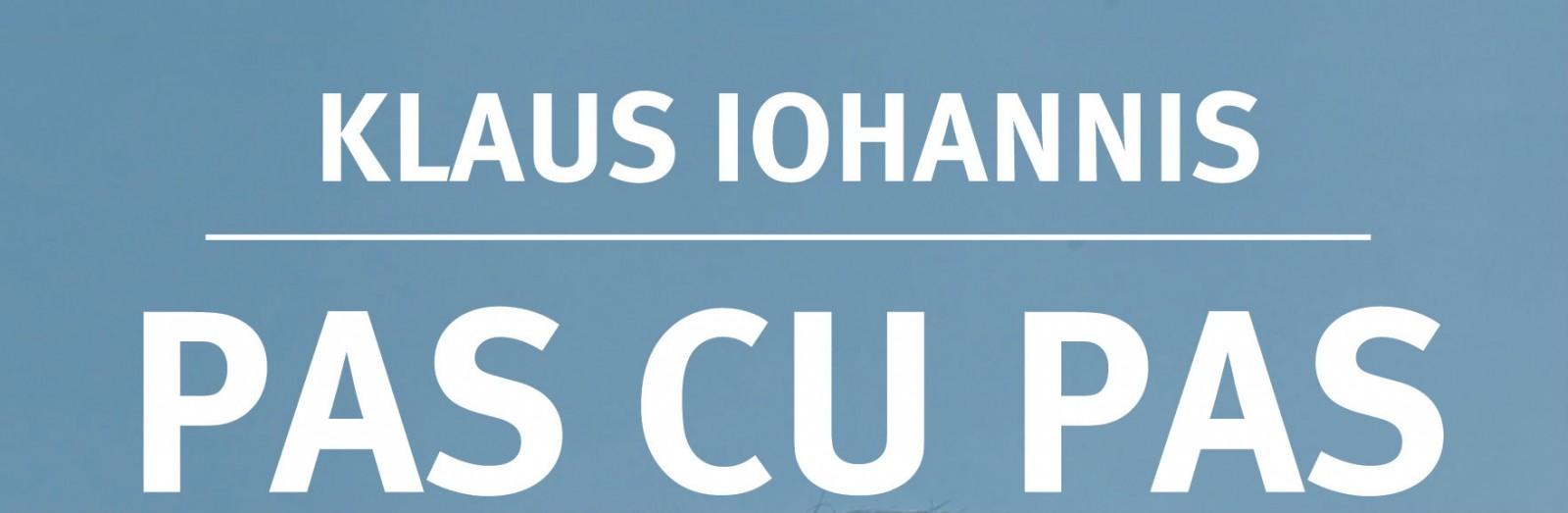 """Volumul """"Pas cu pas"""" de Klaus Iohannis, distribuit împreună cu ziarul """"Adevărul"""""""
