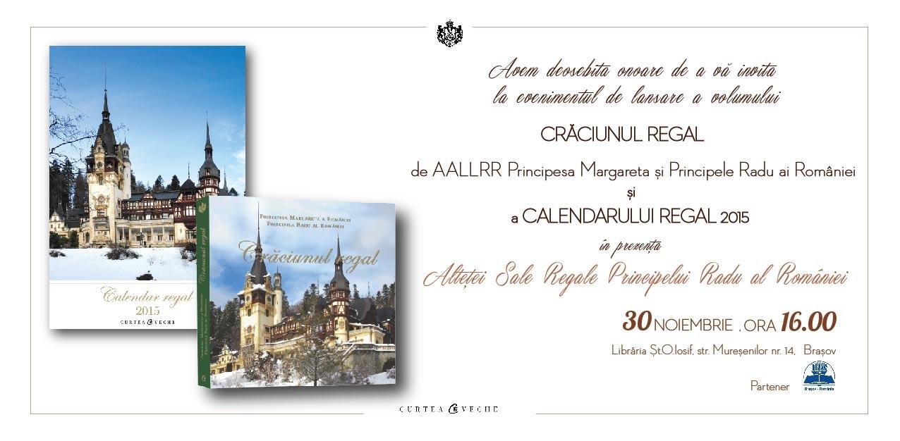 ASR Principele Radu al României,  lansare de carte regală în Brașov