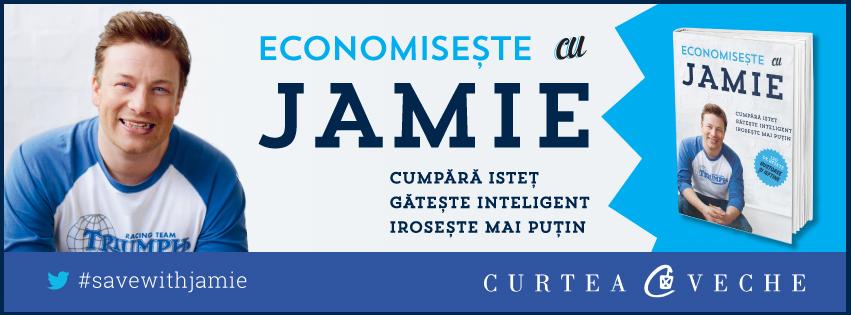 CONCURS ÎNCHEIAT – Economisește cu Jamie: fii #EroulSăptămânii la Curtea Veche Publishing!