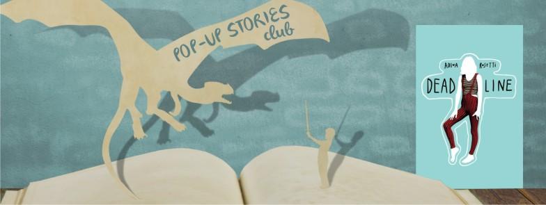 """""""Deadline"""" de Adina Rosetti prinde viață la Pop-up Stories Club"""