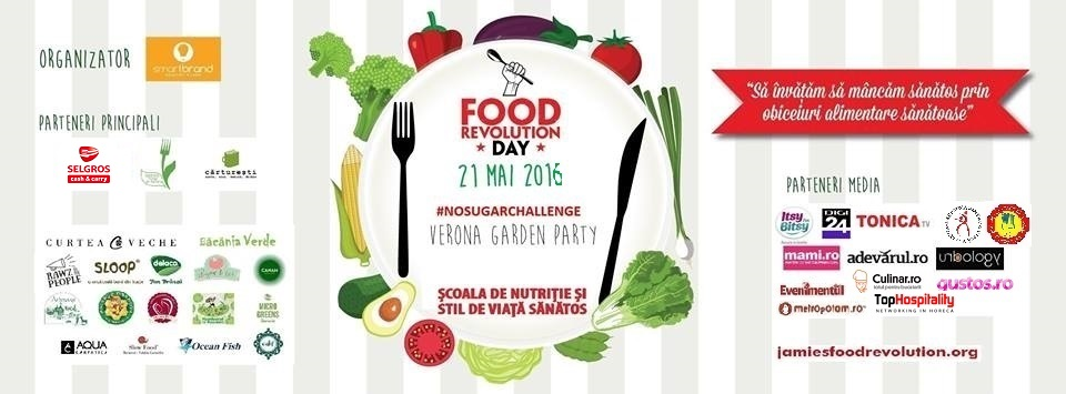 Food Revolution Day 2016, sărbătorită la Curtea Veche Publishing