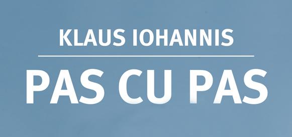 """Traducerea în limba chineză a volumului """"Pas cu pas"""" de Klaus Iohannis"""