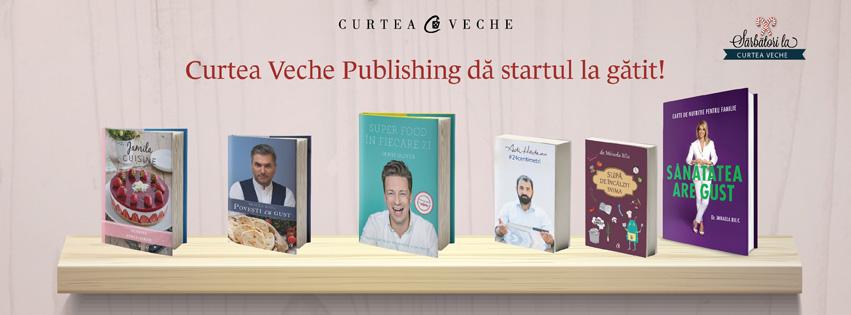 La Gaudeamus, Curtea Veche Publishing dă startul la gătit!