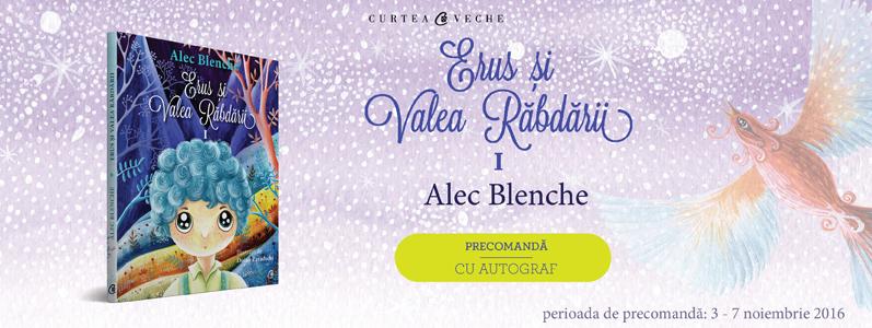 """Copiii pornesc în fascinanta călătorie a unei vieți sănătoase alături de Alec Blenche în """"Erus și Valea Răbdării"""""""