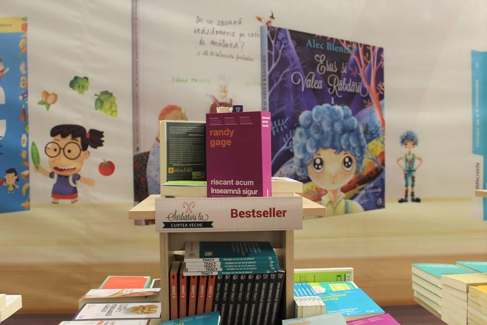 Curtea Veche Publishing: topul vânzărilor la Gaudeamus 2016