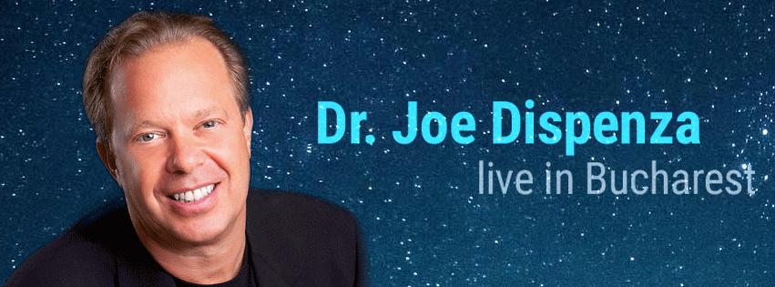 Întâlneşte-l pe Dr. Joe Dispenza la Bucureşti şi schimbă-ţi modul de a gândi!