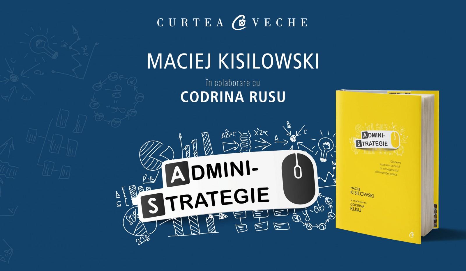 Maciej Kisilowski în conferință la București: Innovative Government: Is everyone afraid of it?