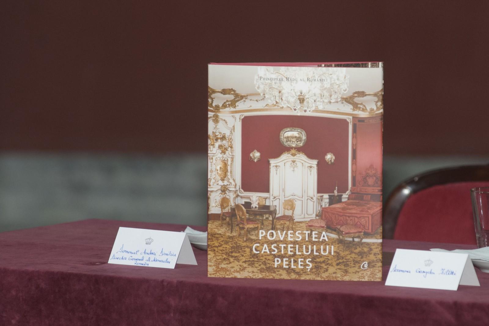 """""""Povestea Castelului Peleș"""" de ASR Principele Radu al României a fost lansată pe 13 iunie la Ateneul Român"""