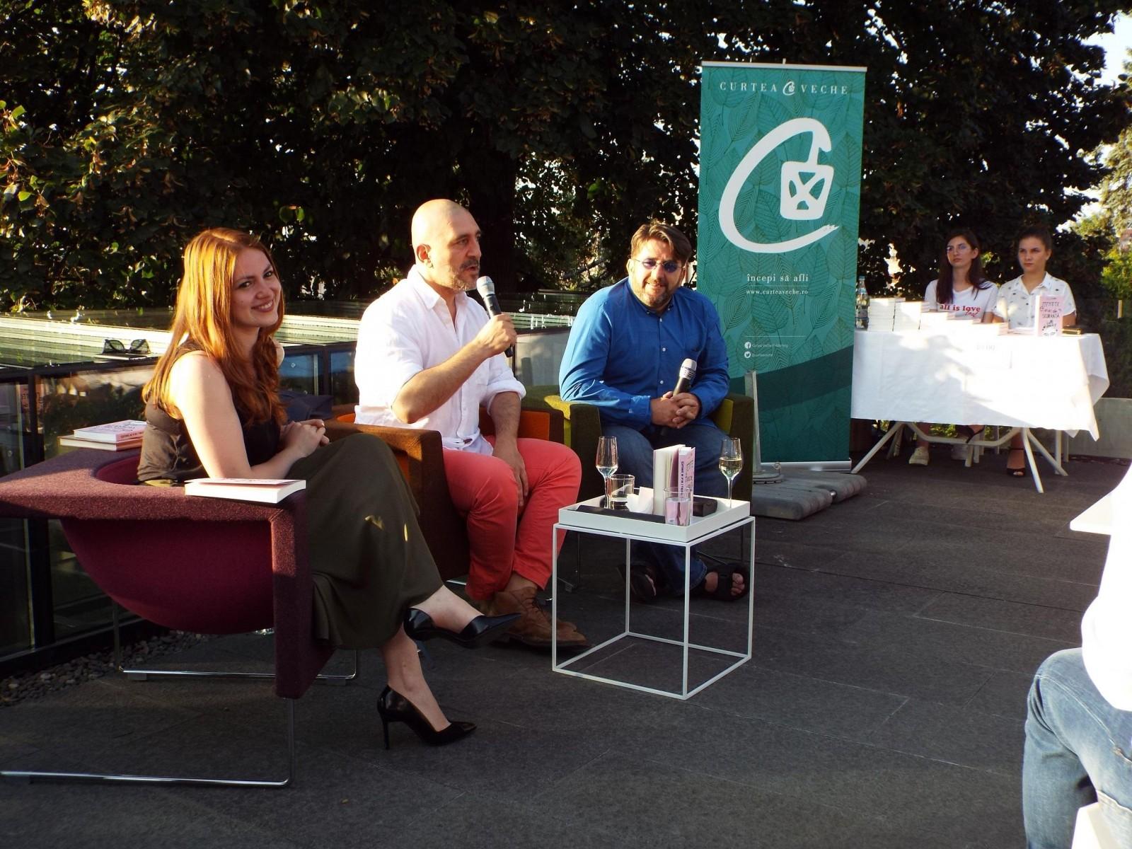 """Răzvan Exarhu a lansat """"Fericirea e un ac de siguranță""""  pe 24 august la Târgu-Mureș"""