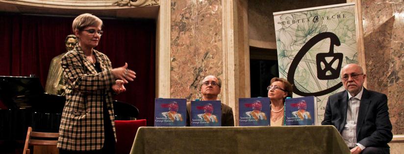 """Lansare de carte: """"Amintirile lui George Enescu"""""""