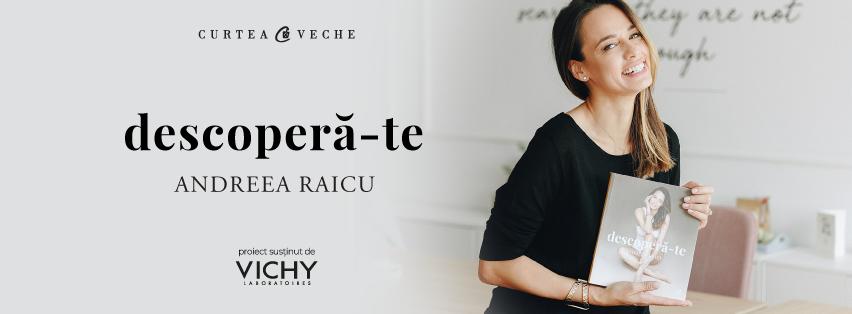 """Andreea Raicu a lansat cartea """"Descoperă-te"""" în cadrul unui eveniment plin de mister"""