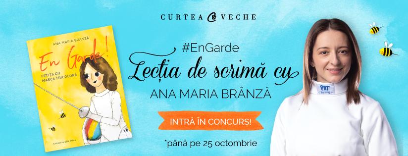 """Regulamentul concursului """"#EnGarde! Lecția de scrimă cu Ana Maria Brânză"""""""