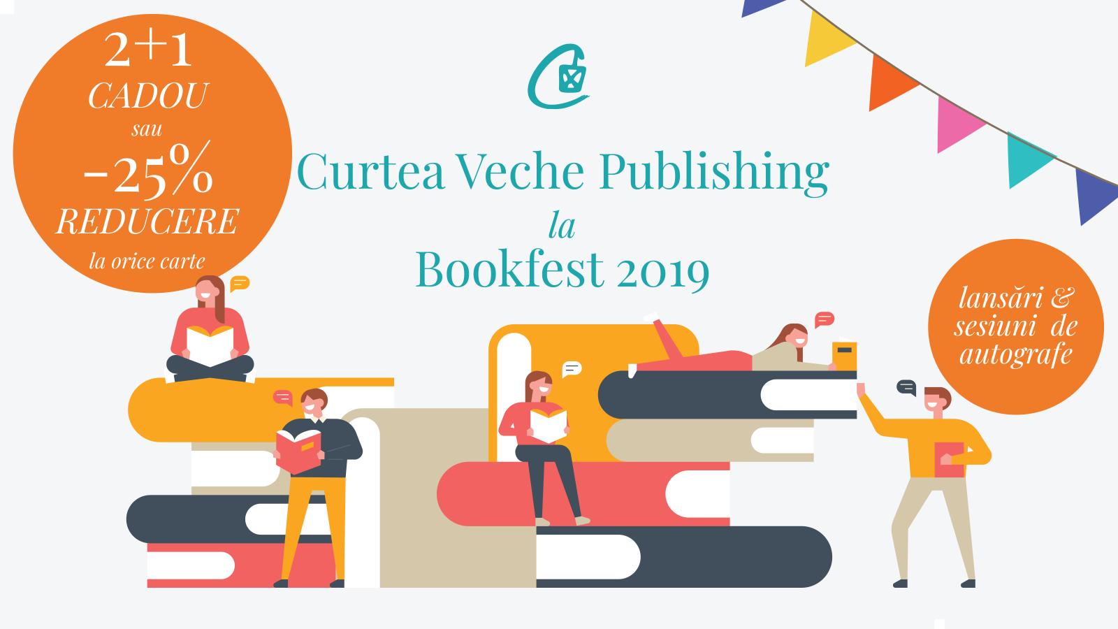 Noua carte a peședintelui Iohannis și 2+1 la toate cărțile din standul Curtea Veche Publishing la Bookfest 2019