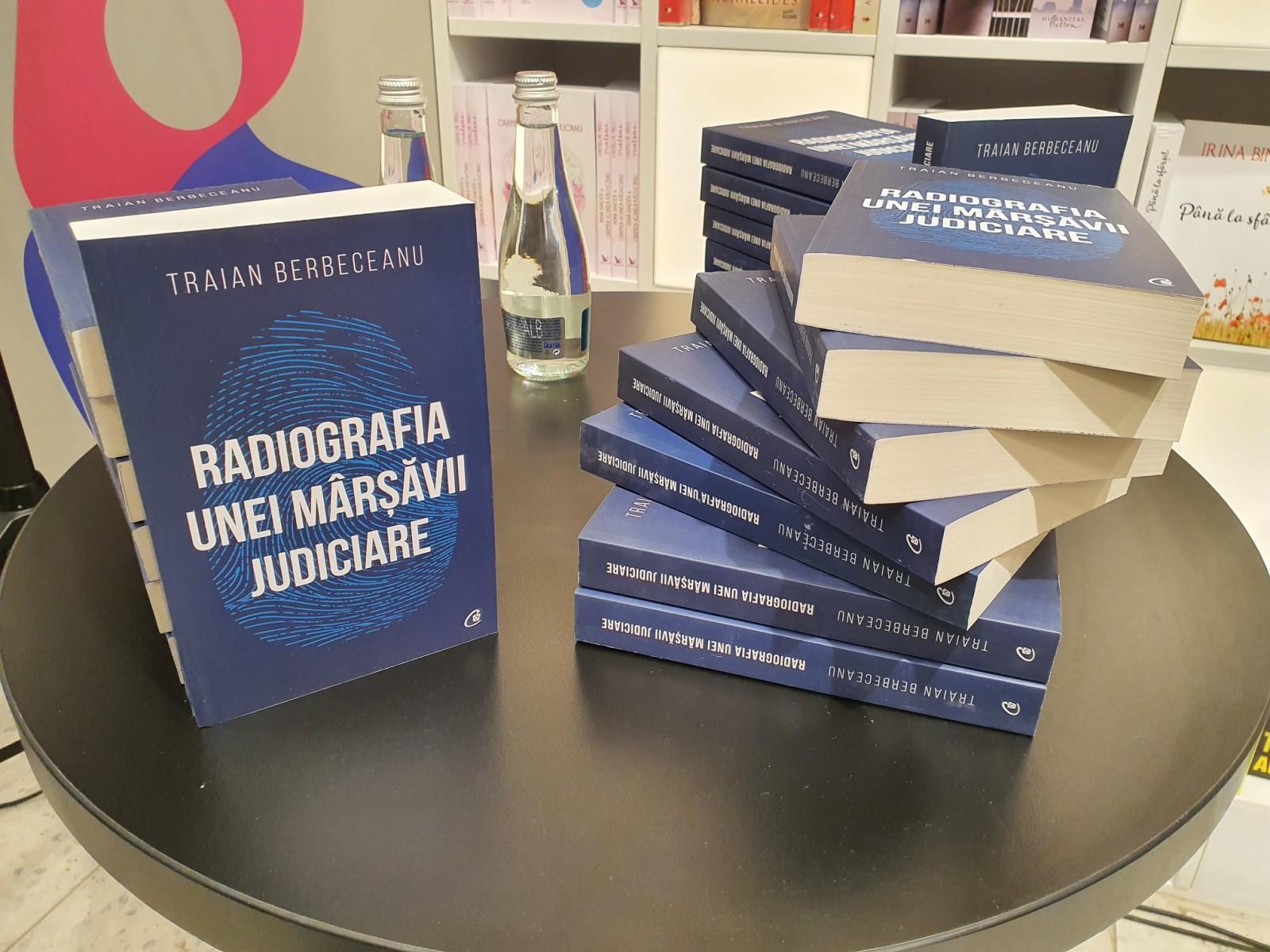 """Traian Berbeceanu duce """"Radiografia unei mârșăvii judiciare"""" la Cluj-Napoca pe 14 noiembrie"""