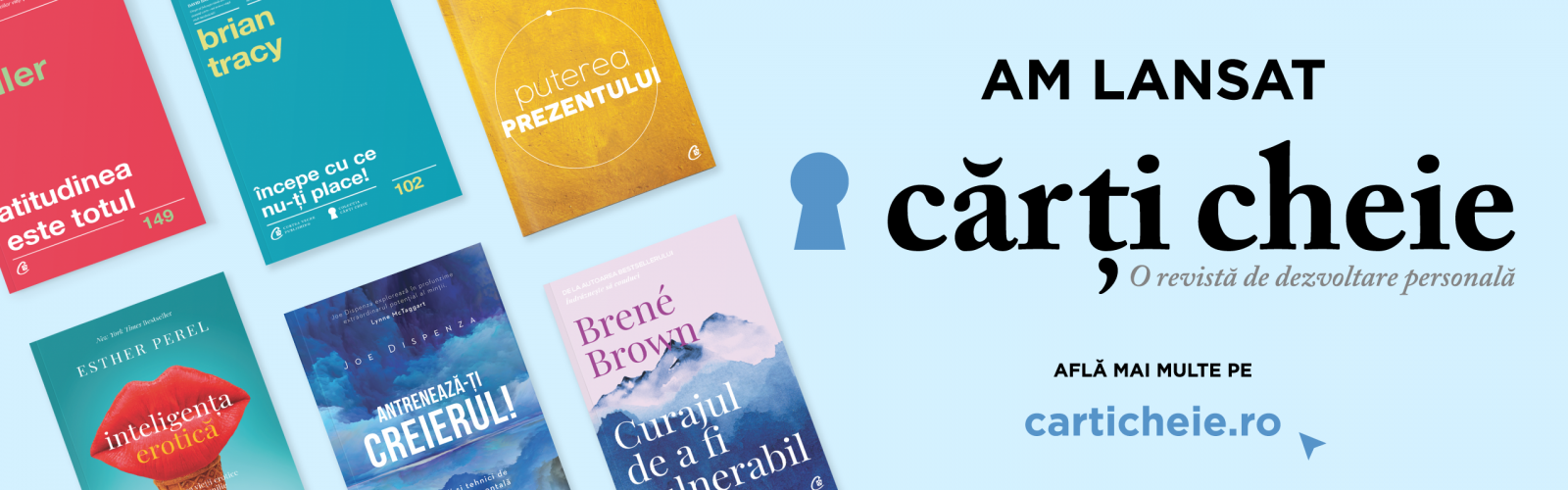 Curtea Veche Publishing lansează prima revista de dezvoltare personală a unei edituri, carticheie.ro