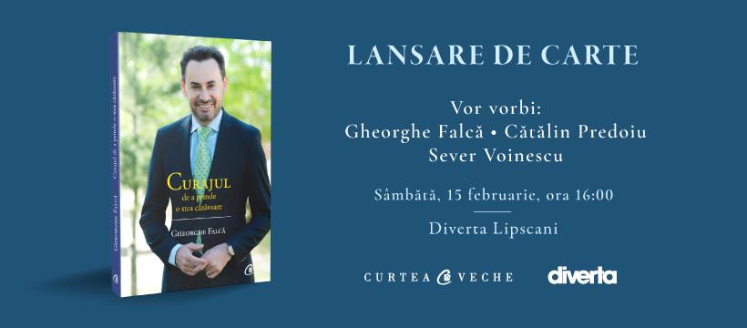 Gheorghe Falcă, fostul primar al Aradului, își lansează o nouă carte