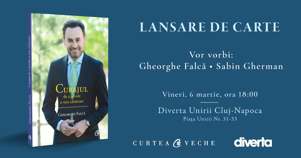 Europarlamentarul Gheorghe Falcă, fostul primar al Aradului, își lansează o nouă carte la Cluj-Napoca