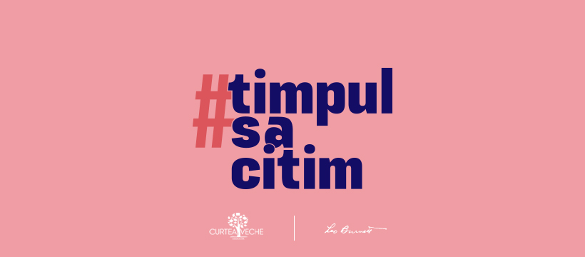 Prima ediție a campaniei #TimpulSăCitim, premiată la Webstock și Internetics 2020