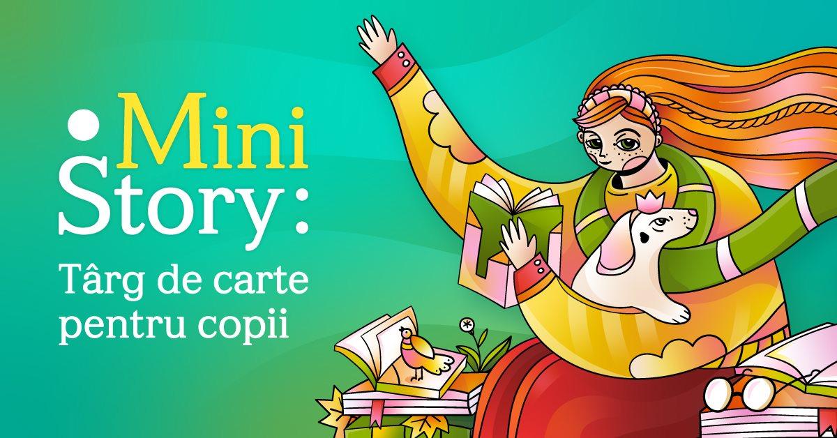 Curtea Veche Publishing la MiniStory: târg de carte online pentru copii